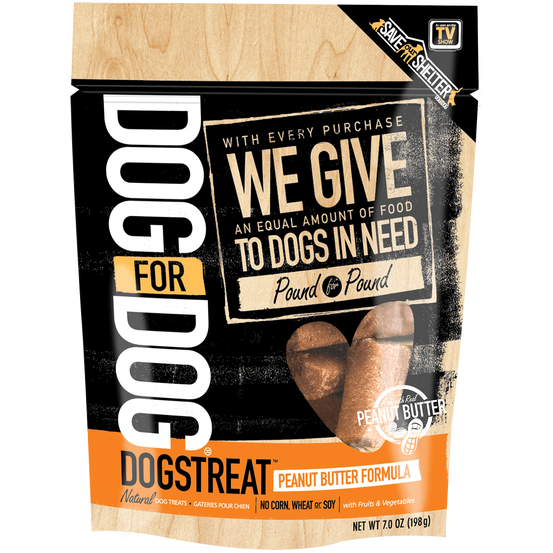 Dog For Dog® | Dogstreat™ Peanut Butter Formula