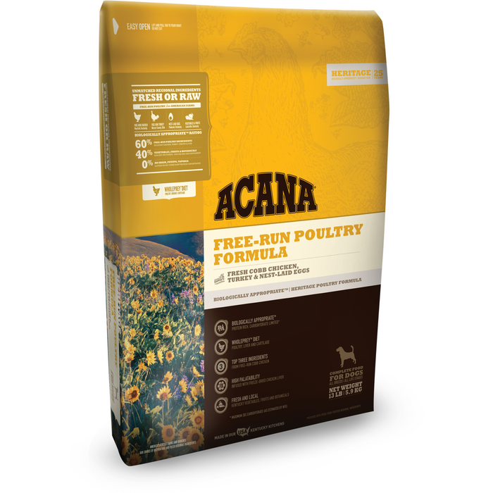 ACANA | Heritage Free-Run Poultry Formula Grain-Free Dry Dog Food