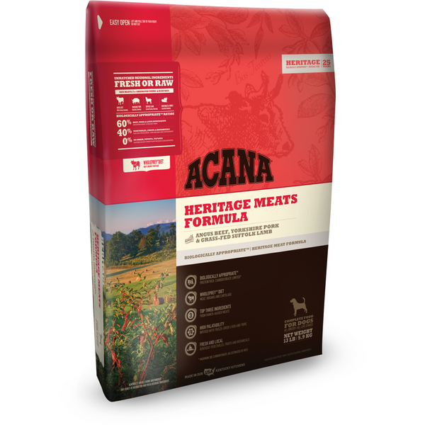ACANA | Heritage Meats Formula Grain-Free Dry Dog Food