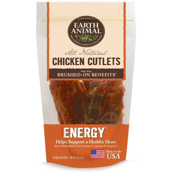Earth Animal® | Energy Chicken Cutlet Dog Treats