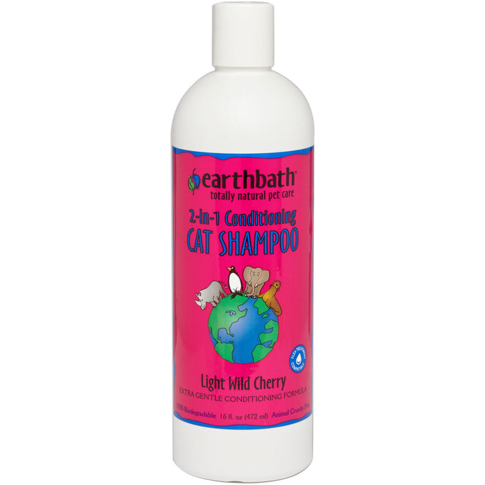 Earthbath® | 2-in-1 Conditioning Cat Shampoo - 16 oz