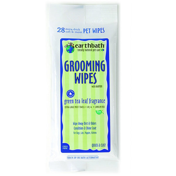Earthbath® | Green Tea Grooming Wipes