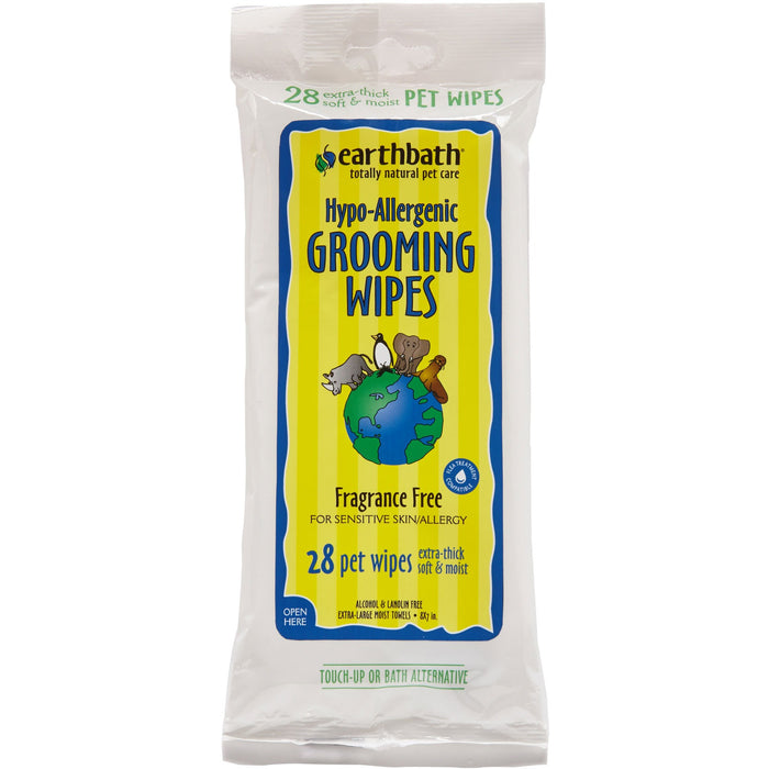 Earthbath® | Hypo-Allergenic Grooming Wipes