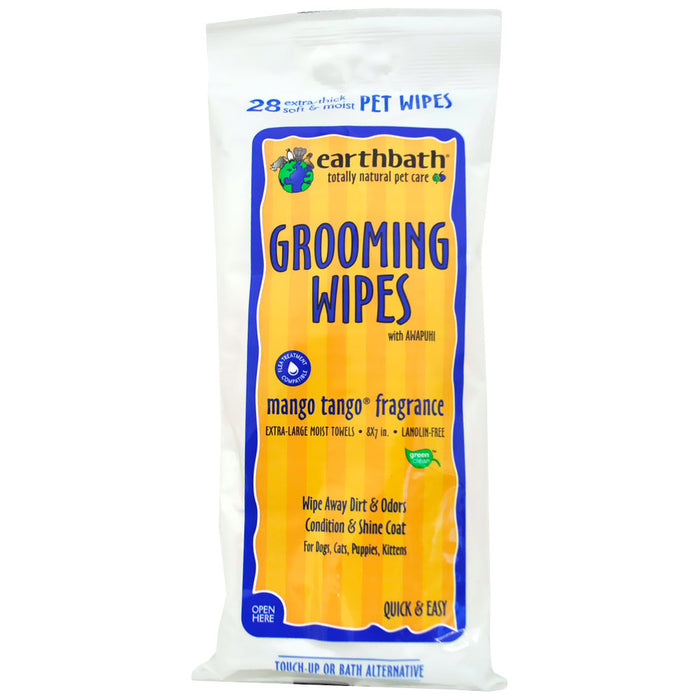 Earthbath® | Mango Tango® Grooming Wipes