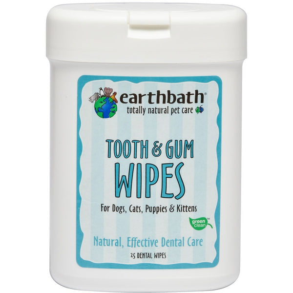 Earthbath® | Tooth & Gum Wipes