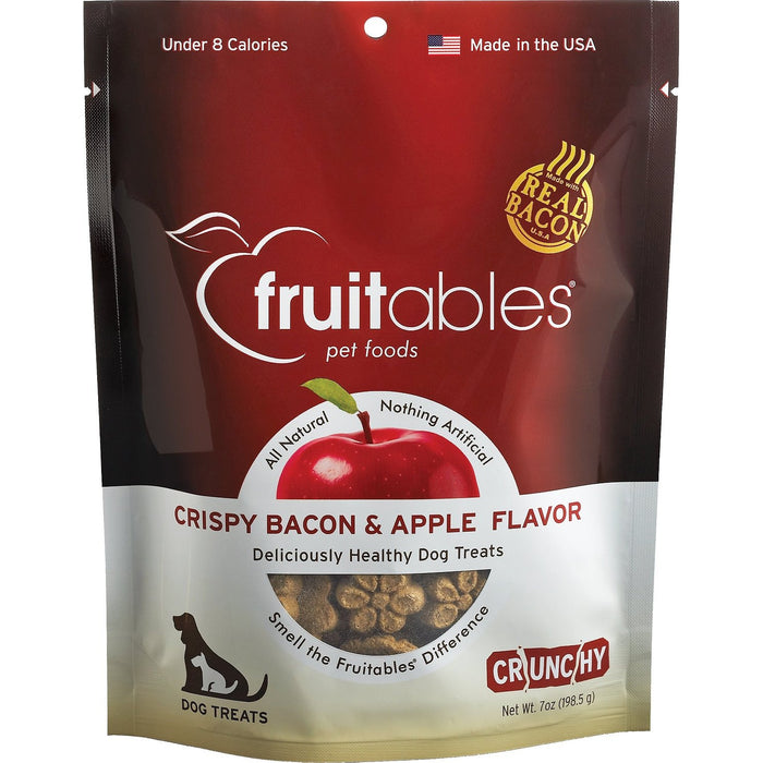 Fruitables® | Crispy Bacon & Apple Flavor Dog Treats