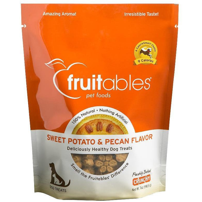 Fruitables® | Sweet Potato & Pecan Flavor Dog Treats