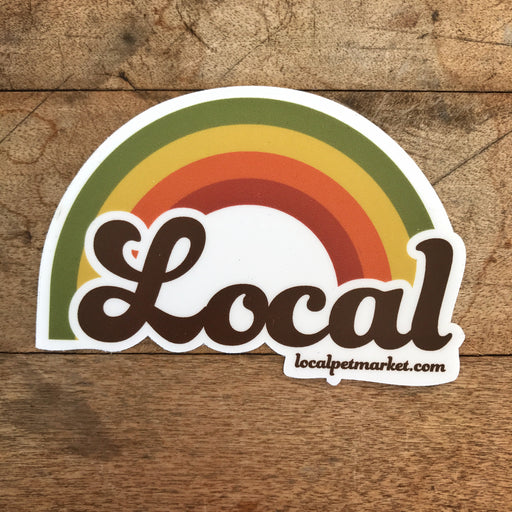 Local Pet Market | Local Rainbow Sticker