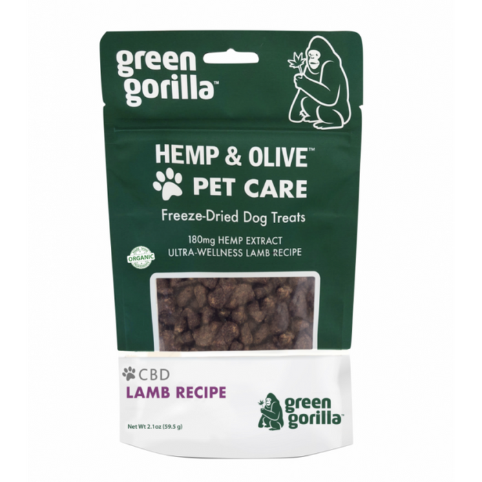 Green Gorilla | Freeze Dried CBD Treat for Dogs