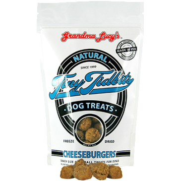 Grandma Lucy's® | Cheeseburgers Tiny Tidbits Dog Treats - 6 oz