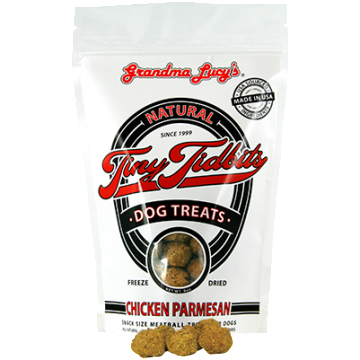 Grandma Lucy's® | Chicken Parmesan Tiny Tidbits Dog Treats - 6 oz