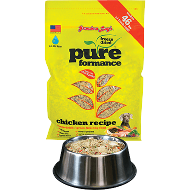 Grandma Lucy's® | Pureformance™ Chicken Freeze-Dried Dog Food