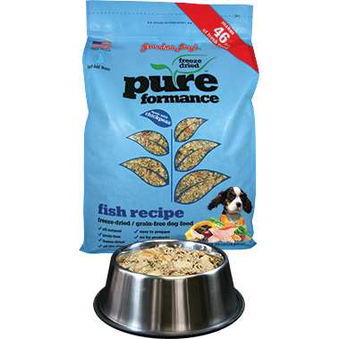 Grandma Lucy's® | Pureformance™ Fish Freeze-Dried Dog Food