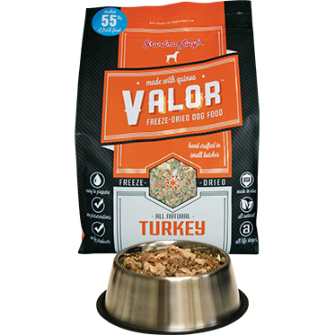 Grandma Lucy's® | Valor™ Turkey Freeze-Dried Dog Food