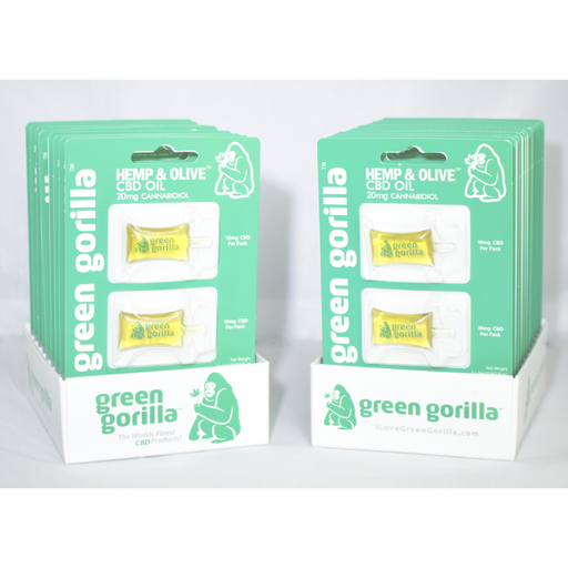 Green Gorilla | CBD Single Serving Blister Pack