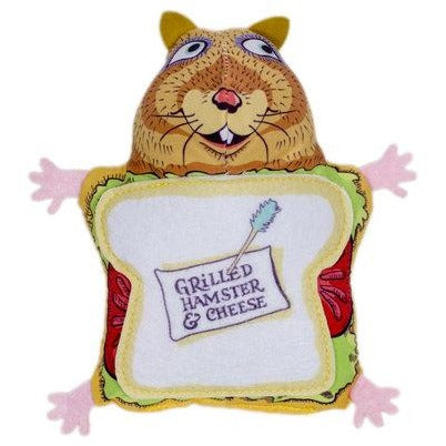 Fuzzu™ | Grilled Hamster & Cheese Cat Toy