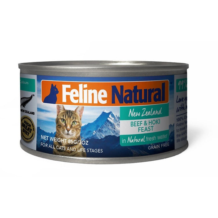 Feline Natural™ | Beef & Hoki Feast Canned Cat Food