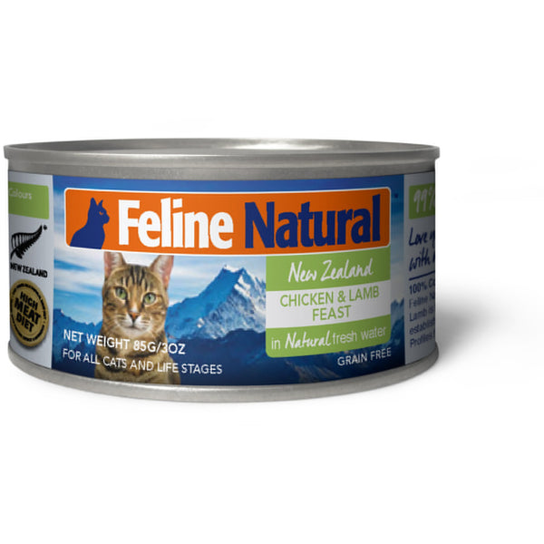 Feline Natural™ | Chicken & Lamb Feast Canned Cat Food