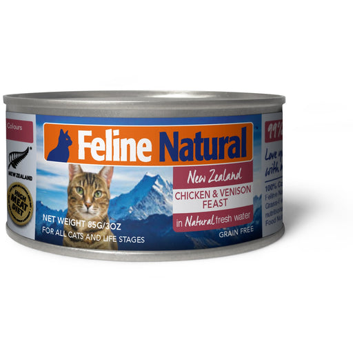 Feline Natural™ | Chicken & Venison Feast Canned Cat Food