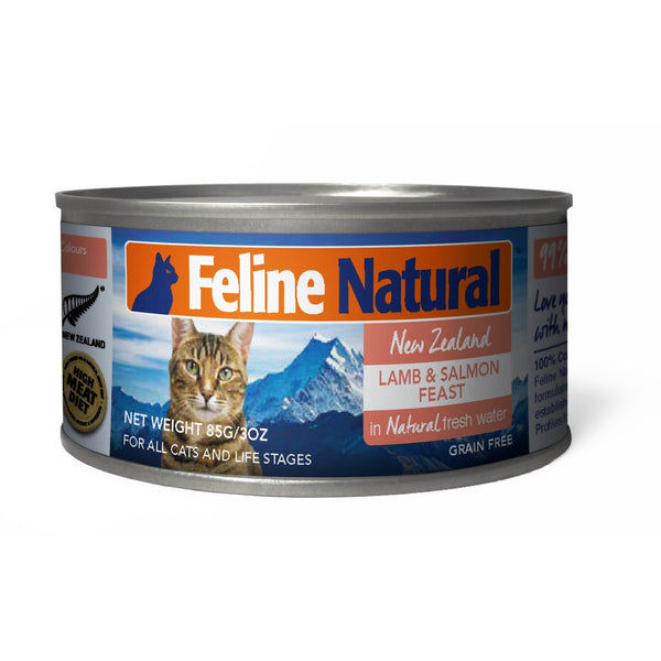 Feline Natural™ | Lamb & Salmon Feast Canned Cat Food