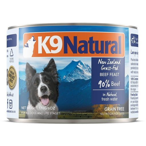 K9 Natural™ | Beef Feast Can Dog Food