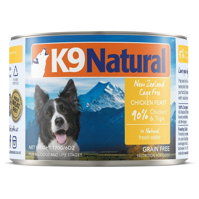 K9 Natural™ | Chicken Feast Can Dog Food