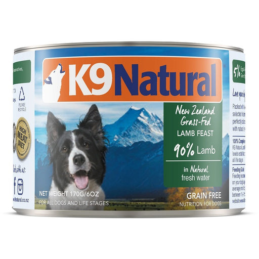 K9 Natural™ | Lamb Feast Can Dog Food