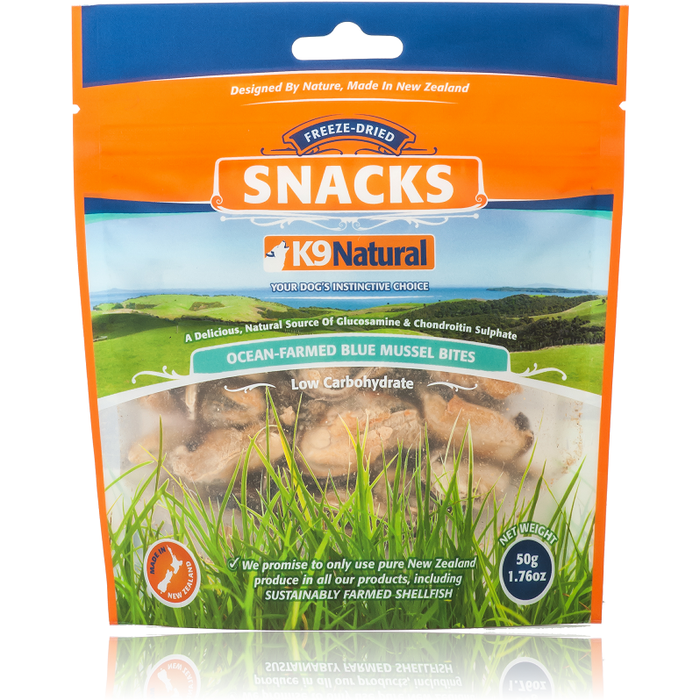 K9 Natural™ | New Zealand Blue Lipped Mussel Treats