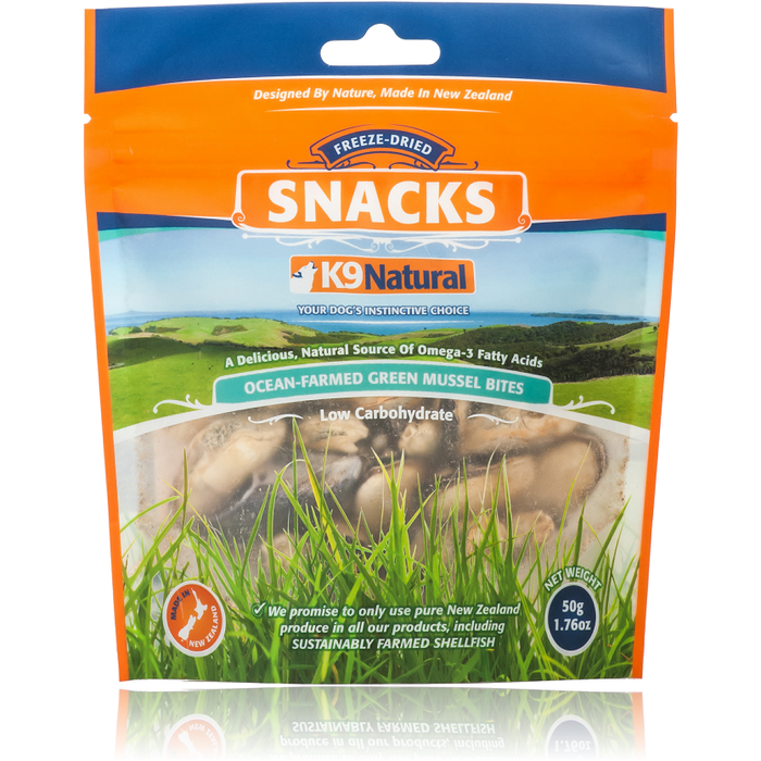 K9 Natural™ | New Zealand Green Lipped Mussel Treats