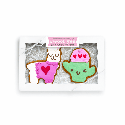 Bobby & Bambi | Valentine's Cookies - Love You A Llama box