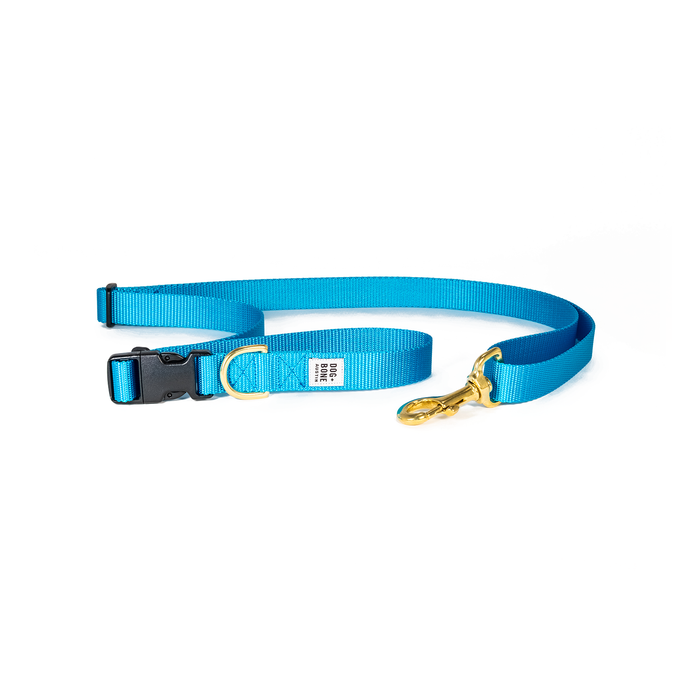 Dog + Bone | Adjustable Leash - Blue