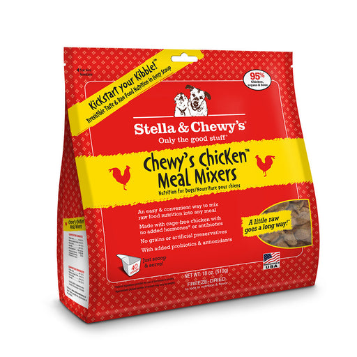 Stella & Chewy's® | Chewy's Chicken™ Meal Mixers Freeze-Dried Dog Food
