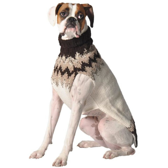 Chilly Dog - Sweater Natural Fairisle