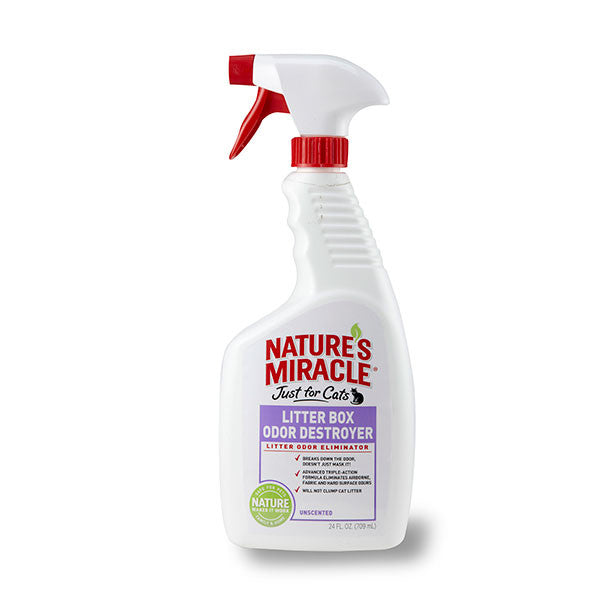 Nature's Miracle® | Litter Box Odor Destroyer - 24 oz