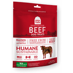 Open Farm™ | Dehydrated Beef Dog Treats - 4.5 oz