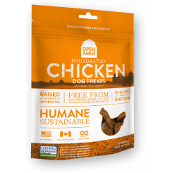 Open Farm™ | Dehydrated Chicken Dog Treats - 4.5 oz