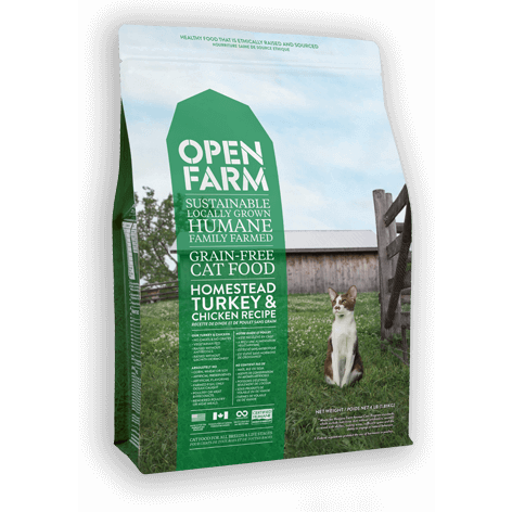 Open Farm™ | Turkey & Chicken Grain-Free Dry Cat Food