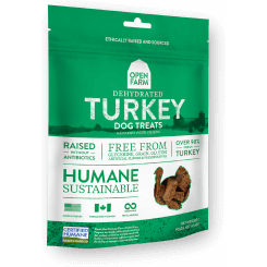 Open Farm™ | Dehydrated Turkey Dog Treats - 4.5 oz