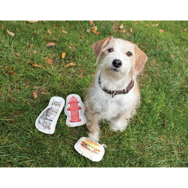 Oré Pet™ | Fetch Dog Toy Hamburger