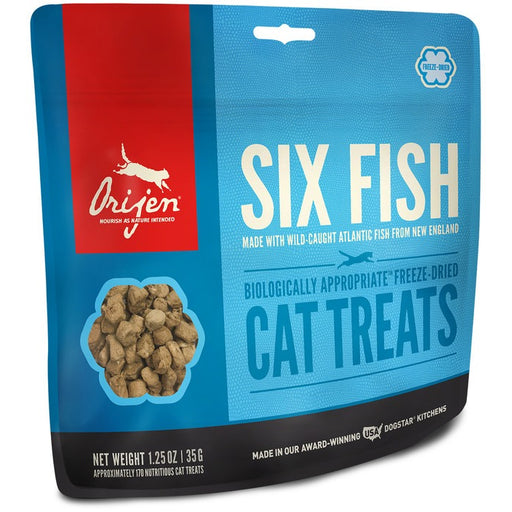 Orijen | Six Fish Freeze-Dried Cat Treats