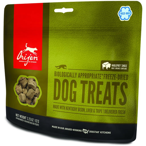 Orijen | Free Range Bison Freeze-Dried Dog Treats