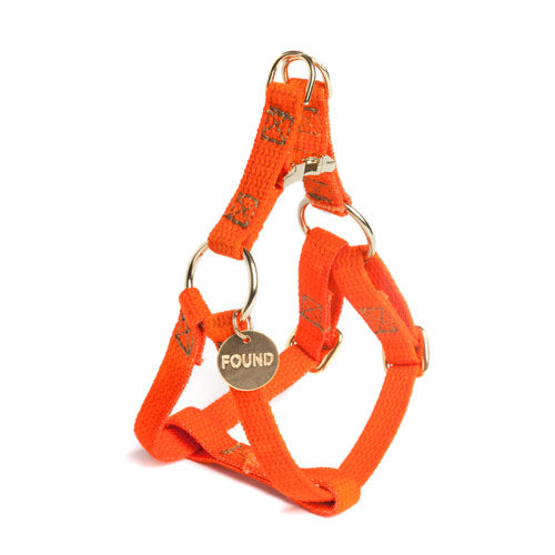 Found My Animal | Cat & Dog Cotton Harness - Orange