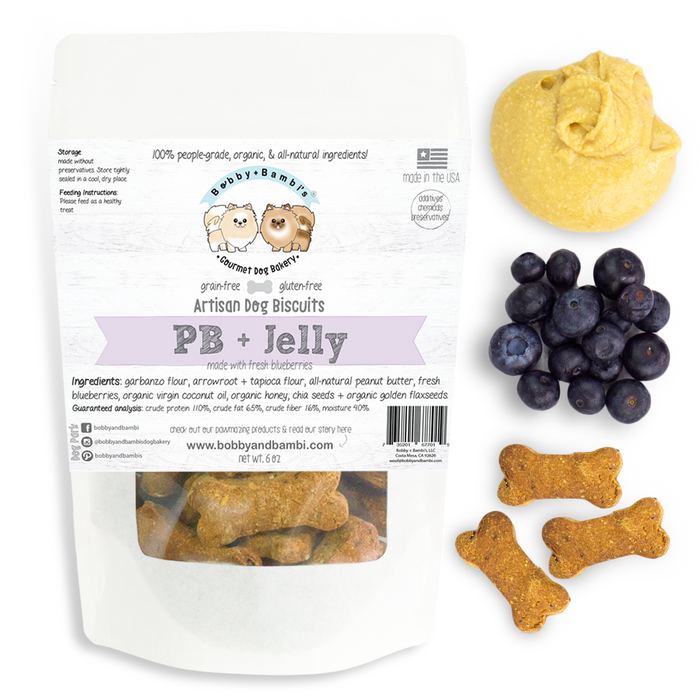 Bobby & Bambi | PB & Jelly Biscuits - 6 oz