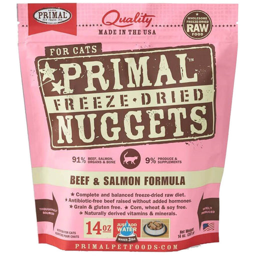 Primal™ | Freeze-Dried Beef & Salmon Formula Cat Food