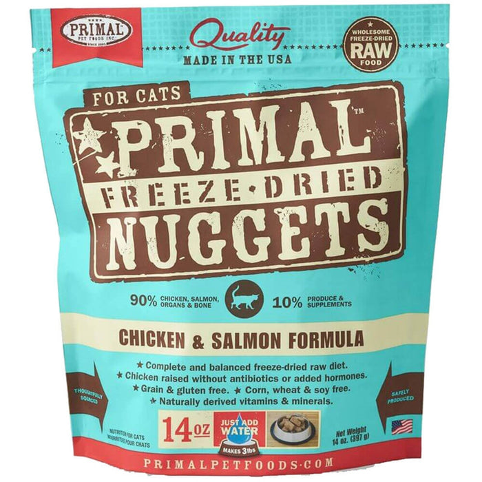 Primal™ | Freeze-Dried Chicken & Salmon Formula Cat Food