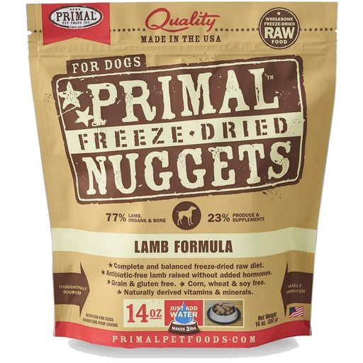 Primal™ | Freeze-Dried Lamb Formula Dog Food