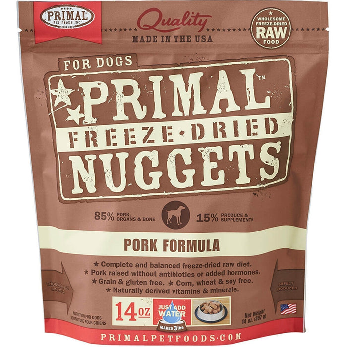 Primal™ | Freeze-Dried Pork Formula Dog Food