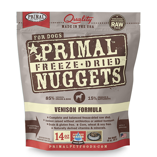 Primal™ | Freeze-Dried Venison Formula Dog Food