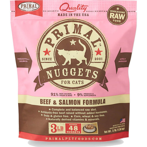 Primal™ | Frozen Raw Beef & Salmon Formula (Local Delivery ONLY - Will Not Ship)