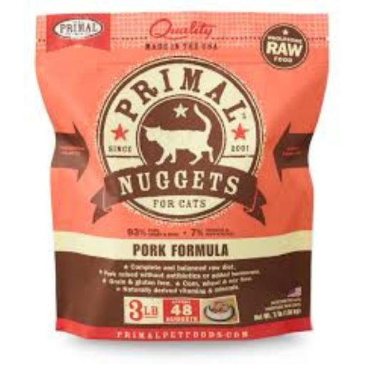 Primal™ | Frozen Raw Pork Formula Cat Food (Local Delivery ONLY - Will Not Ship)